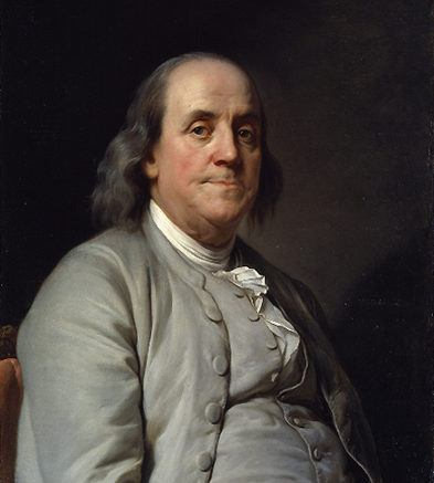 How did Ben Franklin become our first global entrepreneur?