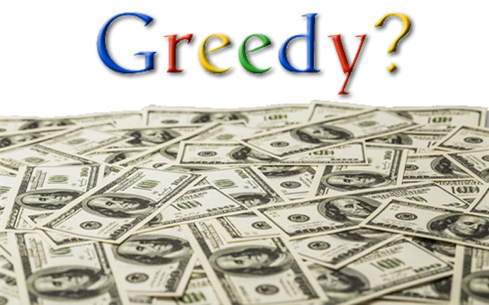 let s talk about greed and google market leadership journal
